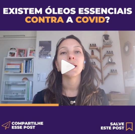EXISTEM ÓLEOS ESSENCIAIS CONTRA A COVID?